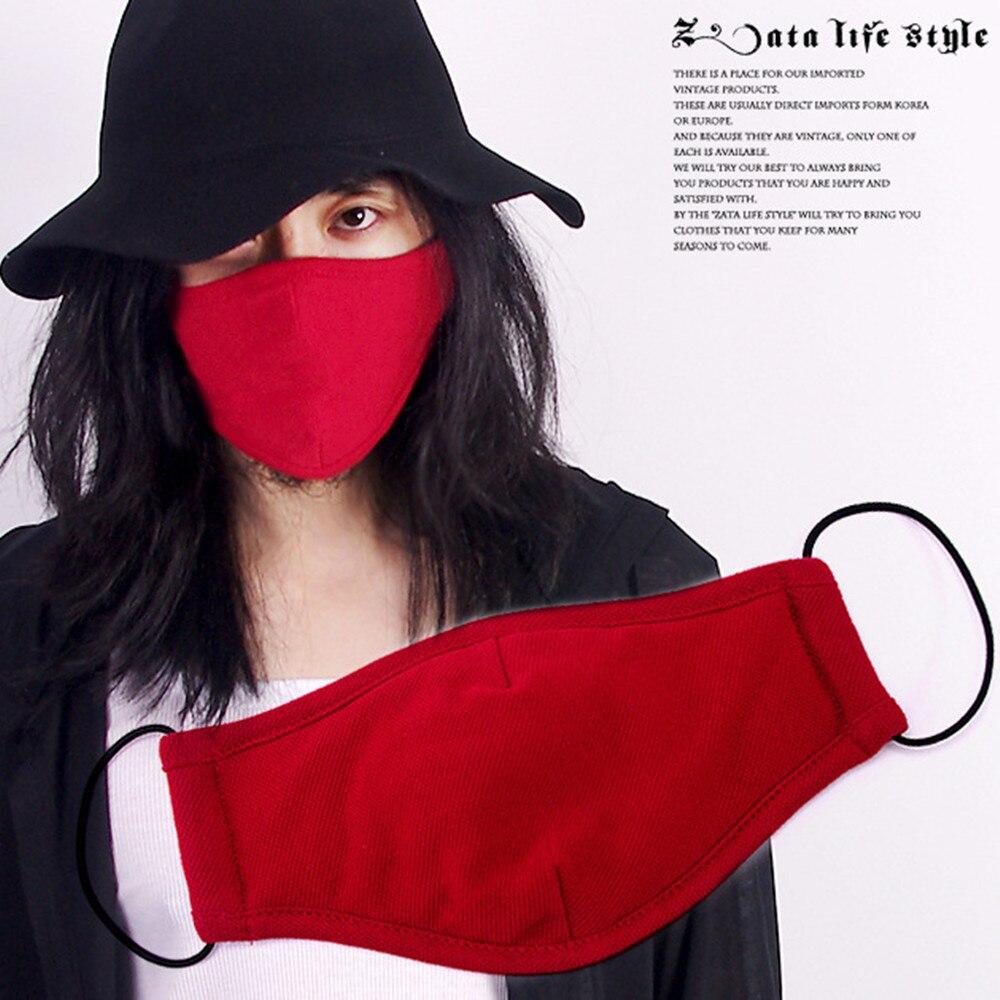 Health Care Trustful Mouth Mask Cotton Cute Pm2.5 Anti Haze Black Dust Mask Nose Filter Windproof Face Muffle Bacteria Flu Fabric Cloth Respirator