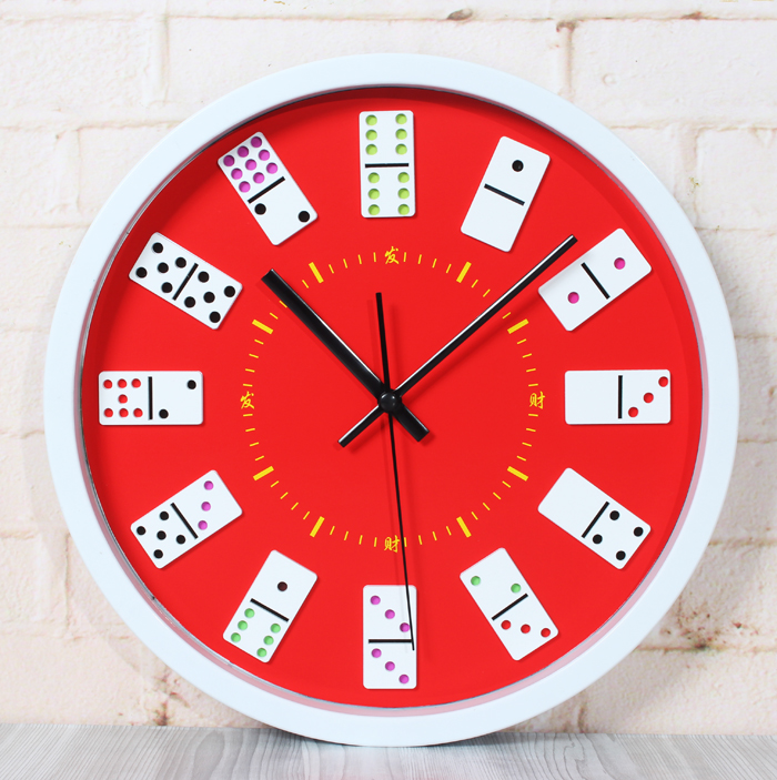 Chinese wind home decor chinese dice wall clock modern for Modern home decor from china