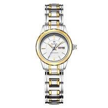 2016 Luxury Brand Женщины Платье Часы Стали Кварцевые Часы Женщины Цены Nuodun Мода Золотой Дело Наручные Часы Для Леди Высокого Качества