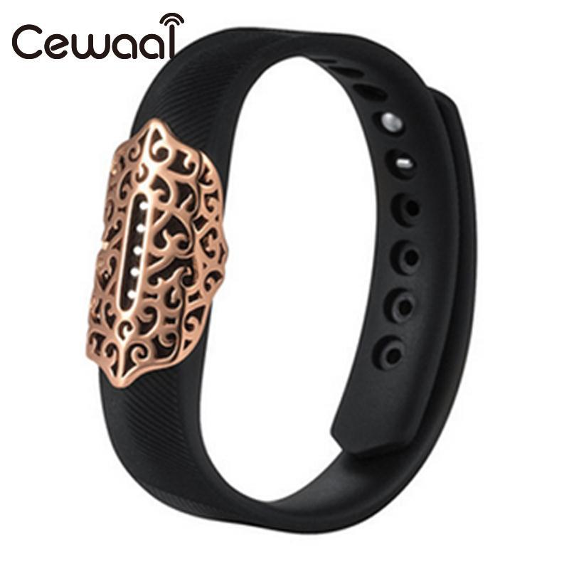 Cewaal Metal Bracelet Band Holder Case For Fitbit Flex2 Watch Sports Wristband Ornament ...