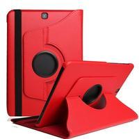 360 Derece Dönen PU açılır deri kılıf samsung kılıfı Galaxy Tab A 9.7 SM-T550 T551 SM-T555 T550 TabA 9.7 tablet kılıfı Cam