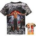 Подростки мальчики топы НБА 3D футболка баскетбол звезда печати Рубашка Карри харден джеймс Кевин Дюрант Подросток спортивная одежда Костюм