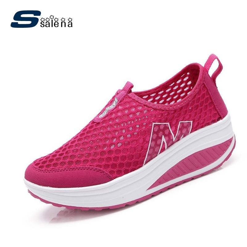 020b3dee52d 2017 New spring and summer fashion thin breathable mesh flat shoes shook  his shoes casual fashion women loafers  B1852