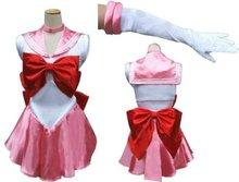 БЕСПЛАТНАЯ ДОСТАВКА Сатурн Косплей Sailor Moon Костюм Сейлор Мун косплей Необычные Платья костюм S, M, L, XL, 2XL