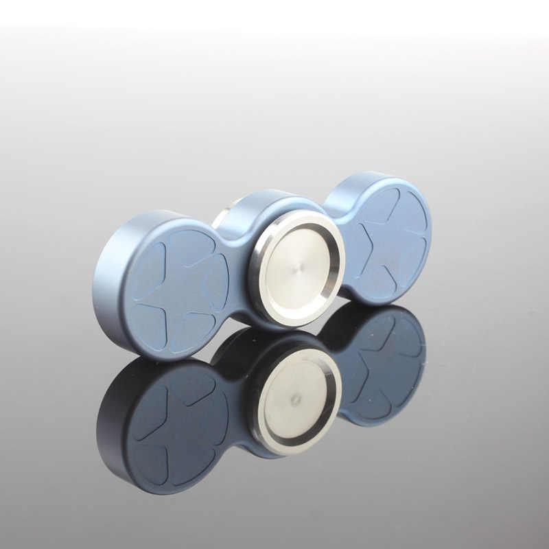 Качественный титановый металлический ручной Спиннер ручной finger Widget антистресс Топ основной спиннинг подшипник titan игрушка для детей