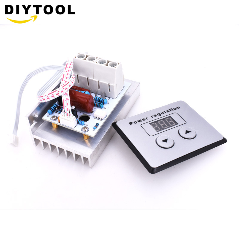 Back To Search Resultselectronic Components & Supplies Digital Meters Selling Well All Over The World Eyewink 220v 10000w 80a Digital Control Scr Electronic Voltage Regulator 10-220v Speed Control Dimmer Thermostat
