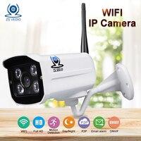 ZSVEDIO Surveillance Cameras IP Camera Onvif 1080P WiFi IP66 Wireless Network Video Record 2 0MP Full
