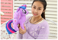 About 30cm Cartoon Horse Twilight Sparkle Plush Toy Birthday Gift T4331
