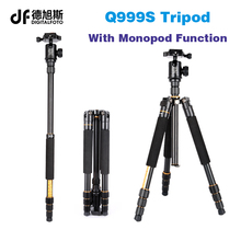 Q999S Portable travel 6KG bear dslr monopod stand professional digital camera font b tripod b font