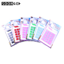Mini Wired Numerical Silicone Keypad Number Pad Slim Foldable Flexible Teclado Soft Universal Portable Roll-up PC Ipad Laptop