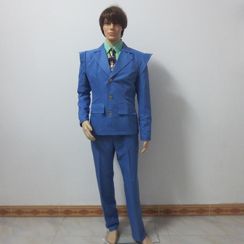JoJo's Bizarre Adventure Kira Yoshikage Cosplay Costume Customize Any Size