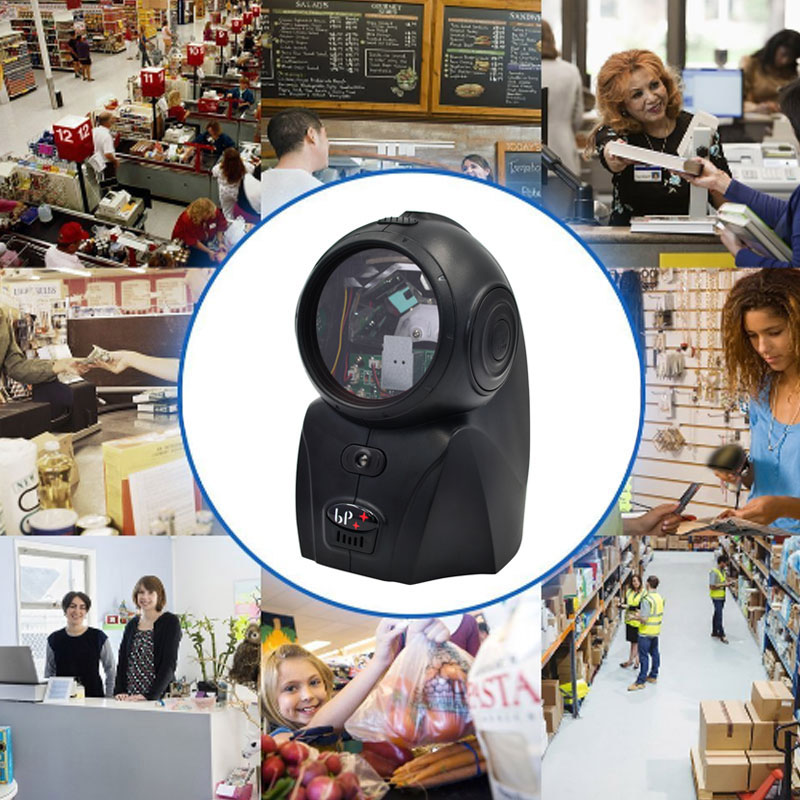 BP-2082-HJ 120 Lines Desktop Flatbed Barcode Scanner Bar Code Reader with USB Interface for Supermarket XXM8 1d barcode scanner with holder automatic scan free shipping usb interface for pos system and surpermarket