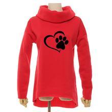 Heart & Paw women's hoodie