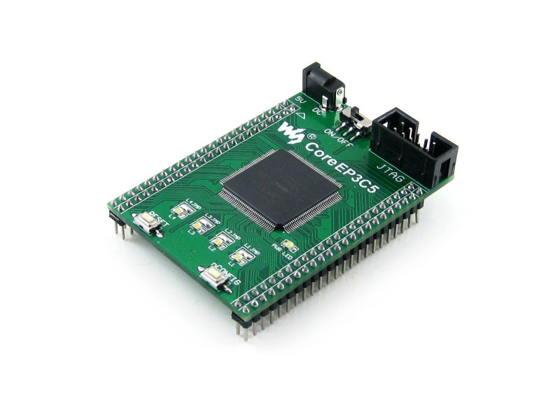 module CoreEP3C5 = EP3C5 ALTERA Cyclone III chip EP3C5E144C8N FPGA Evaluation Development Core Board with Full IO Expanders fast free ship for gameduino for arduino game vga game development board fpga with serial port verilog code