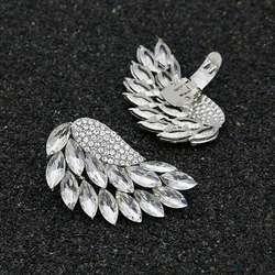 Обувь клип серебряные крылья Съемный Пряжка сделай сам для женщин высокие каблуки свадебные украшения Шарм интимные аксессуары модные