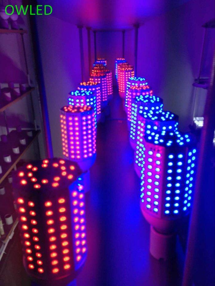 Vert, rouge, bleu, blanc pour paysage LED haute puissance ampoule multicolore 40 W 60 W 80 W 100 W 120 W 150 W