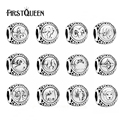FirstQueen Vintage 925 Sterling Silve Aquarius Star Sign Zodiac Beads Charms fit Bracelets DIY Twelve Constellations Accessories