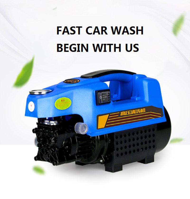 New 120bar 1700w 220v High Pressure 1740psi Car Wash High Pressure