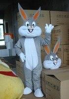 BING RUI CO Adult size Cartoon bugs bunny rabbit Mascot Costume mascot cosplay halloween costume christmas Crazy Sale