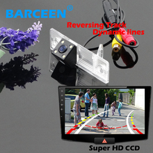 Colorful HD CCD image original type car rear rversing camera for  Chevrolet Epica/Lova/ Aveo/Captiva with  Dynamic track line