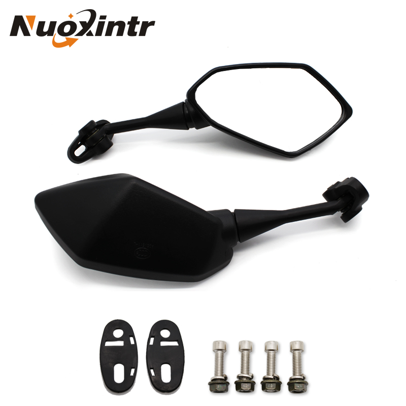 Motorcycle Rearview Mirror Moto Rearview Side Mirror For HONDA CBR 900 919 929 600RR HYOSUNG GT125R 650 R S Kawasaki Ninja 250 R боковые зеркала и аксессуары для мотоцикла logas hyosung gt125r gt250r gt650r gt650s