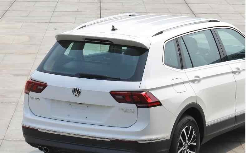 Für Tiguan L Spoiler 2015-2018 Volkswagen Tiguan L Spoiler ABS kunststoff Material Auto Hinten Flügel Farbe Heckspoiler
