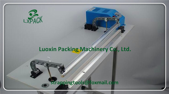 LX-PACK Lowest Factory Price Highest Quality Foot Sealer Machine Foot Type Constant Heat Sealer Single-sided lx pack lowest factory price foot pedal impulse sealer heat sealing machine plastic bag sealer 300 1400mm pedal sealer