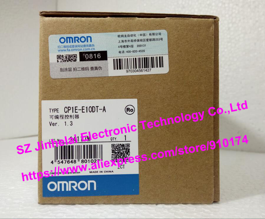 New and original CP1E-E10DT-A  OMRON  Programmable controller new 10 1