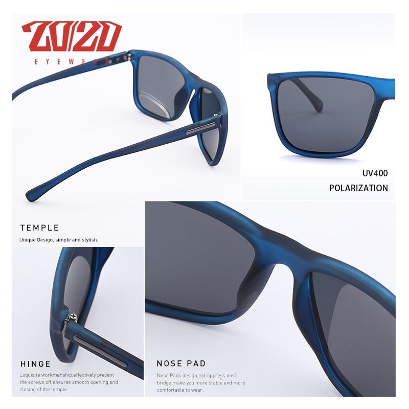 20/20 Marca Gafas de sol polarizadas Hombres UV400 Clásico Masculino - Accesorios para la ropa - foto 4