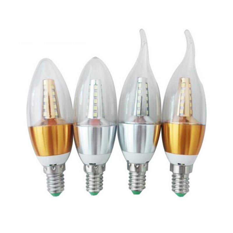 3pcs LED Filament Bulb Lampada LED Light 5W 7W 9W LED Edison COB Bulb E14 E27 Candle Light 360 Degree Light Bulbs