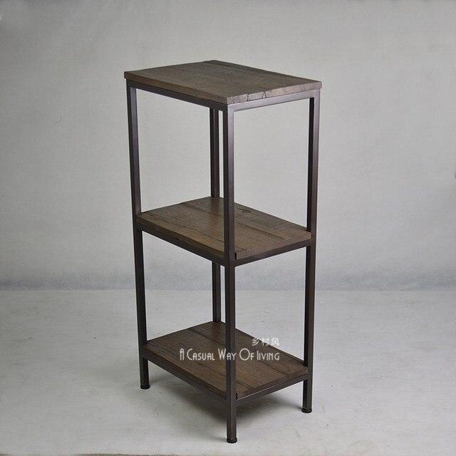 American iron retro cucina bagno cornice di finitura scaffalatura scaffale fiore di legno - Scaffale cucina ...