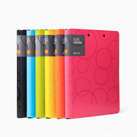 Bubble Cover Colorful Elite Clip File A4 Document Report Data Office Business Double Clip Folder Filing