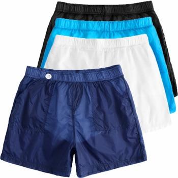 0ce5f7909145 Los hombres con estilo Homme transparente Sexy pantalones cortos de cintura  elástica Hombre suelto Fitness de fiesta de playa, ver a través de ...