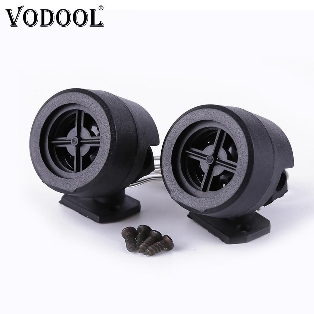 VODOOL 2Pcs Univerzális félpályás autós Tweeter hangszóró 500W - Autóelektronika