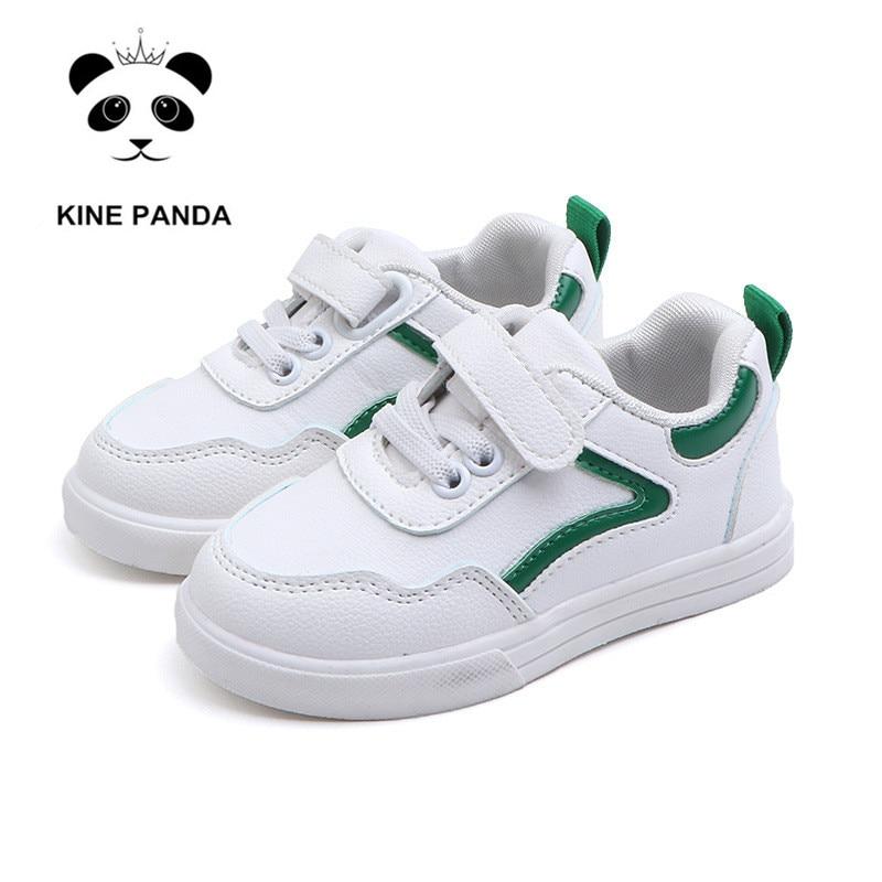 369a40a3f KINE PANDA 1 2 3 4 лет детская обувь для малышей для маленьких мальчиков и  девочек детские повседневные кроссовки Детский сад плоские спортивные к.