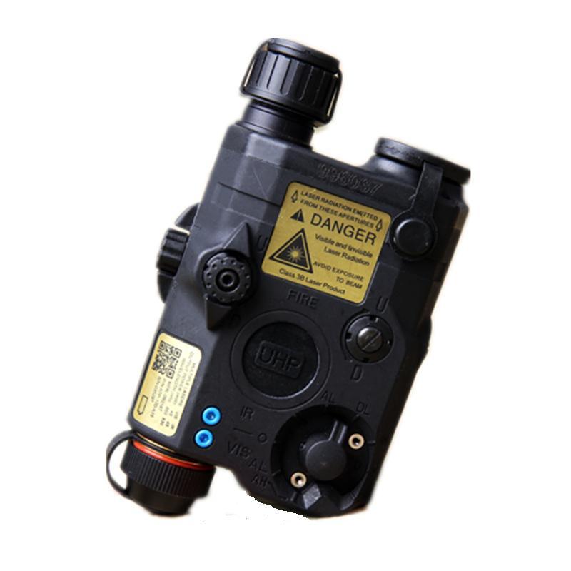 FidèLe Lampe De Poche Tactique Peq Version Mise à Niveau La5-c Led Lumière Blanche + Laser Rouge Avec Lentilles Ir Noir De Fg