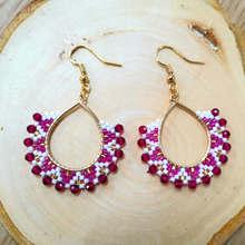 Go2boho 2019 Statement Earrings Hoops For Women Bohemian MIYUKI Earring Jewelry New Boho Handmade Wedding Party Gift