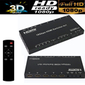 4K 60HZ HDMI 2.0 Switcher Selector box 4X1 HDMI 2.0 extender amplifier w/ RS232 EDID 3D HDCP2.2 compliant