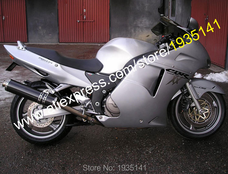 Hot Sales,For Honda CBR1100XX 96-07 CBR 1100 XX 1996-2007 All Silver Bodywork Aftermarket Motorcycle Fairing (Injection molding) aftermarket free shipping motorcycle parts eliminator tidy tail for 2006 2007 2008 fz6 fazer 2007 2008b lack