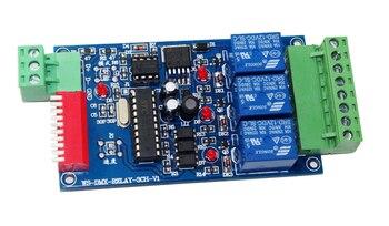 送料無料1ピースdc12v 10a * 3チャンネルdmx512リレー3ch dmx512 3 pコントローラledディマー、デコーダ使用のためのrgb ledランプledストリップ