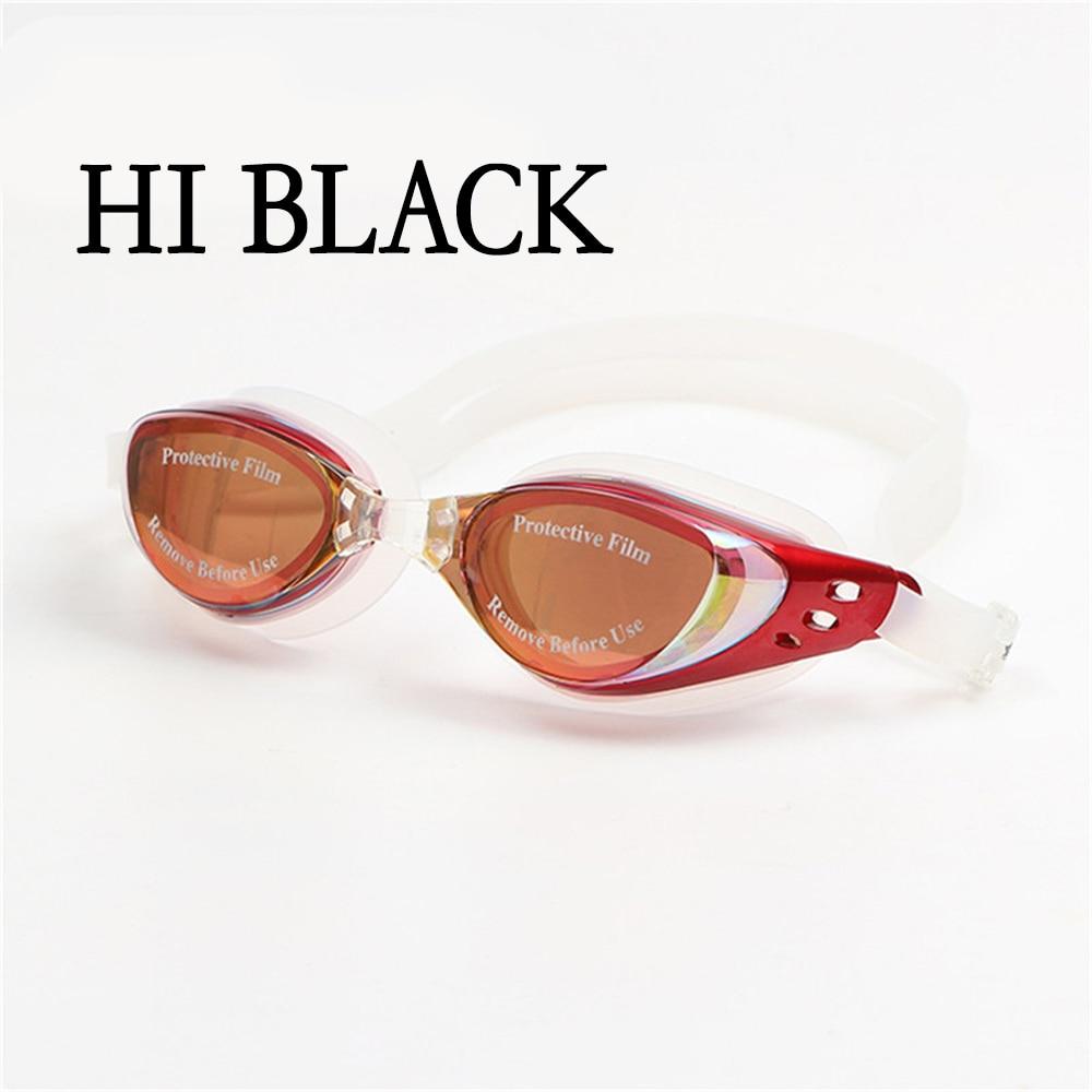 adult prescription optical myopia swimming goggles anti-fog coated water diopter swimming eyewear