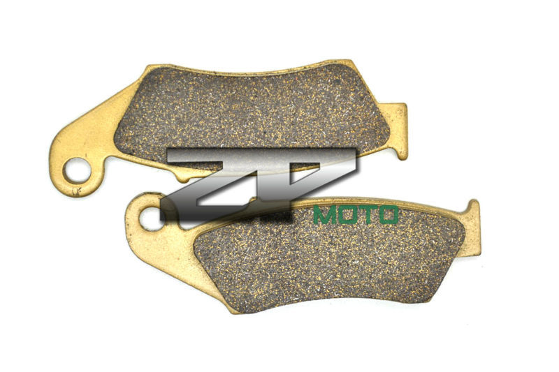 Organic Kevlar Brake Pads For CRF 450 X 05-14 CRF 450 R 02-14 XR 250/400 R 96-04 CRF 250 X 04-13 Front Brand New High Quality 1999 2000 arctic cat 250 2x4 kevlar carbon front brake pads