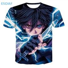 3D Naruto's Uchiha Sasuke t-shirt