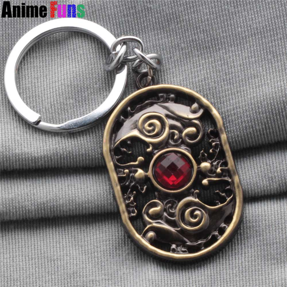 Online Game Dota 2 Defense of the Ancients Choker statement Necklace Keychain key ring c ...