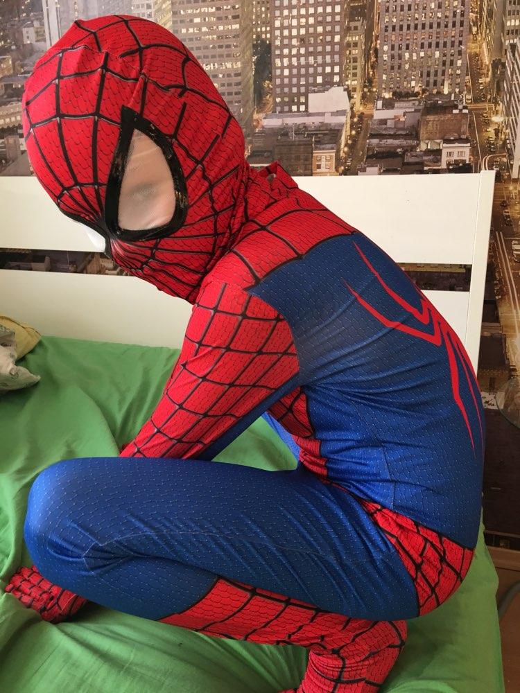 buy new superhero cosplay costumes adult children halloween costume spider man clothing kids cosplay clothing spiderman costume from