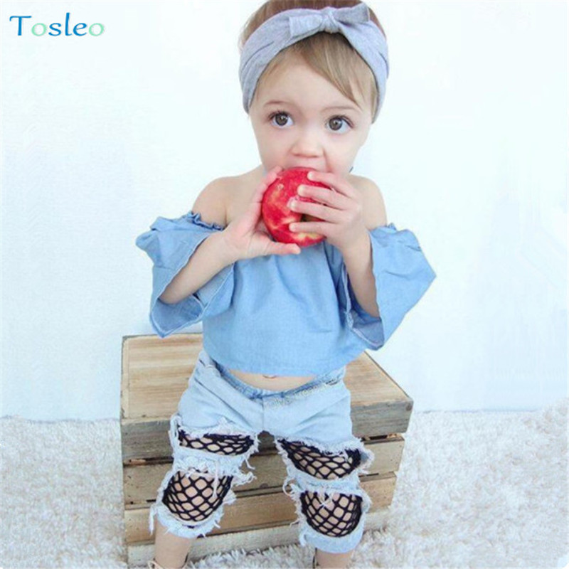 bade83372 Baby Girl Clothing Sets Photography Props 1pc tops+1pc pants+1pc Headband  Funny Baby Outfits 0-2Y