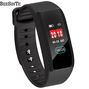 Image 2 - 2019 smart armband fitness tracker Smart armband Wasserdichte Farbe Heart Rate Blutdruck monitor für Android IOS
