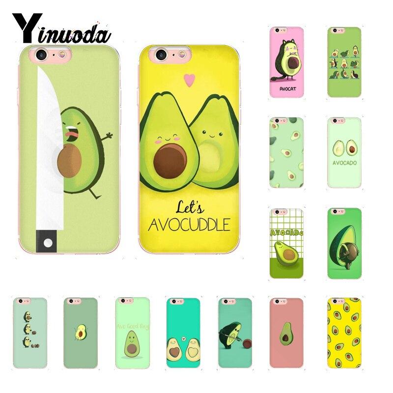 Yinuoda avocat esthétique mignon modèle de mode coque de téléphone pour iphone onex XSMAX 6 6s 7 7plus 8 8Plus 5S SE XR 10 11 11pro 11promax