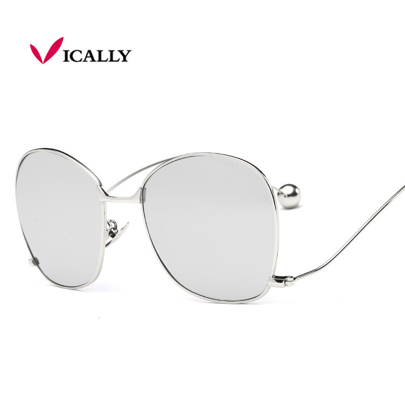 Fashion Brand Design Women Personality Exaggerated Sunglasses Clear Lens Womens Glasses UV400 Protection EGbtWZFKgK
