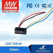Kemakmuran Mean Well LDD-700LW 2 ~ 32VDC 700mA Meanwell LDD-700 DC-DC LED Driver Kawat Gaya(China)